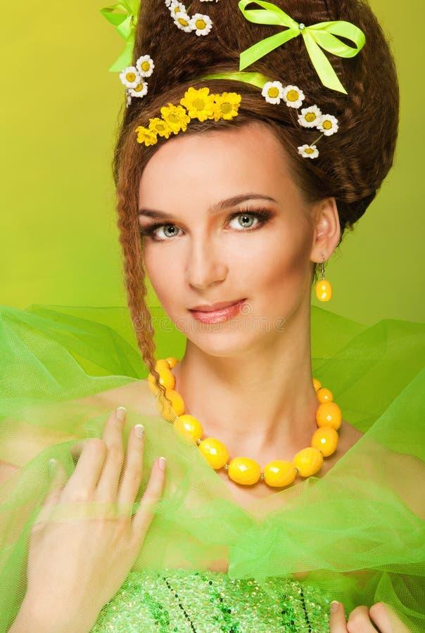 Koningin van de lente stock foto's