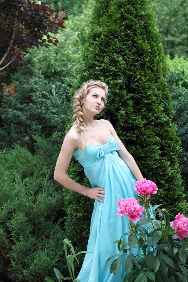 Koningin van de tuin stock fotografie
