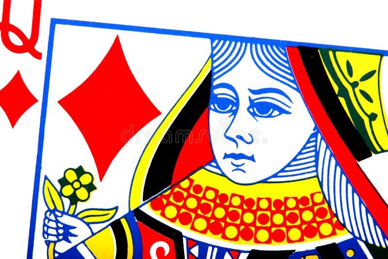 Koningin van Diamanten vector illustratie