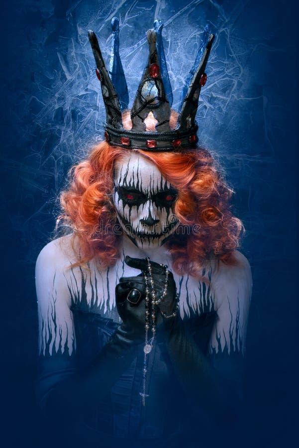 Koningin van dood royalty-vrije stock afbeelding