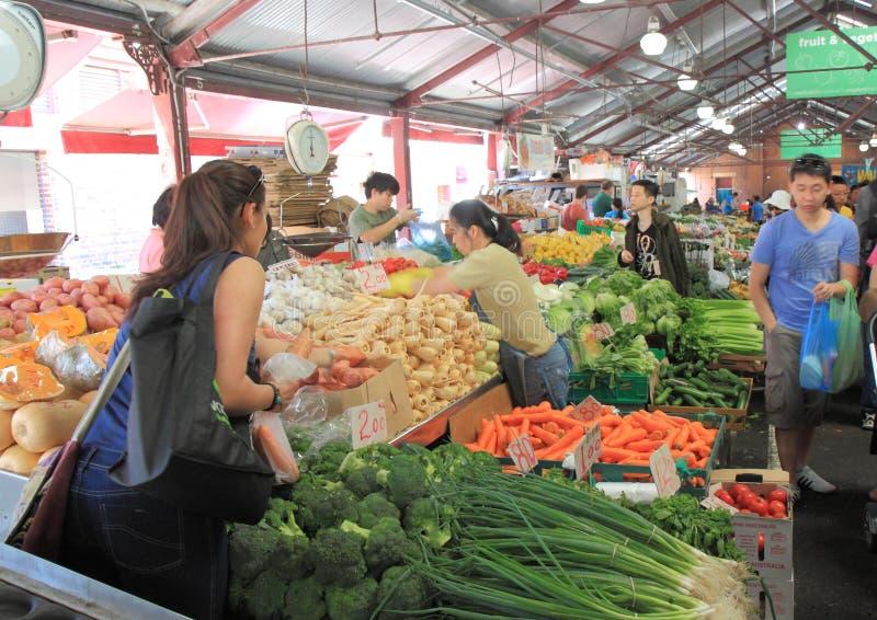 Koningin Victoria Market Melbourne stock afbeeldingen
