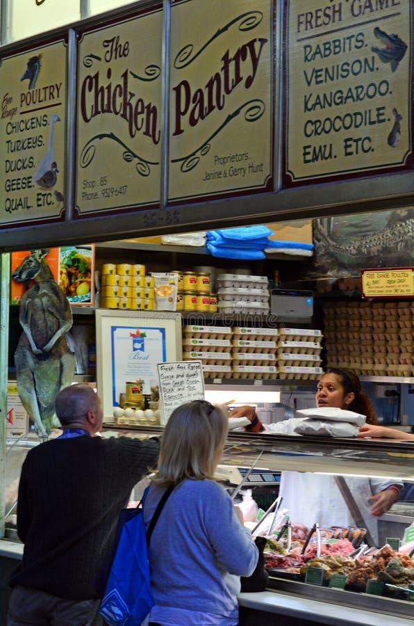 Koningin Victoria Market - Melbourne stock foto's