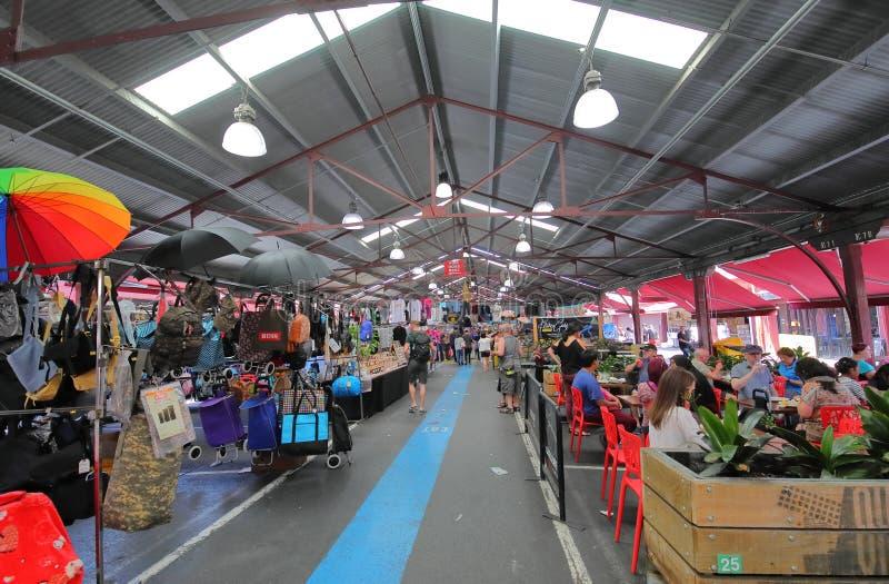 Koningin Victoria Market Melbourne Australia stock foto's