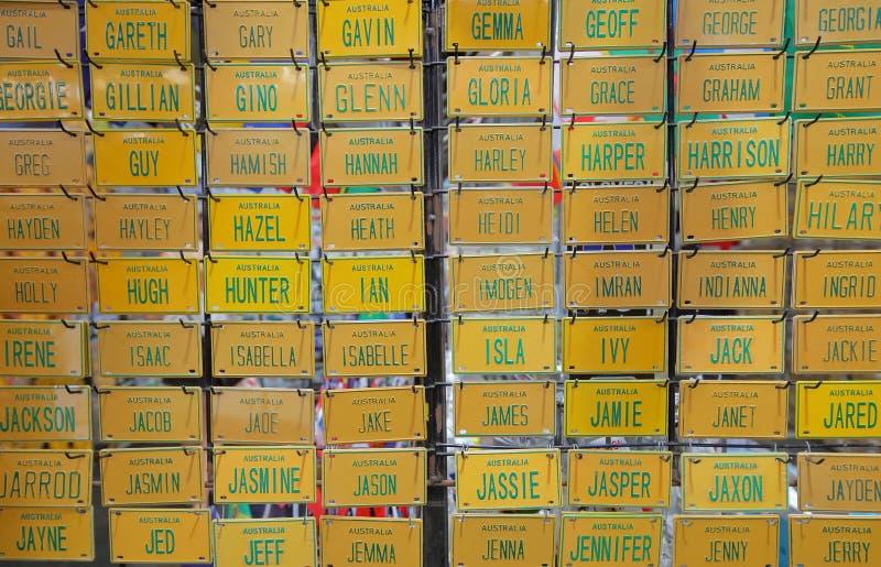 Koningin Victoria Market Melbourne Australia stock afbeeldingen