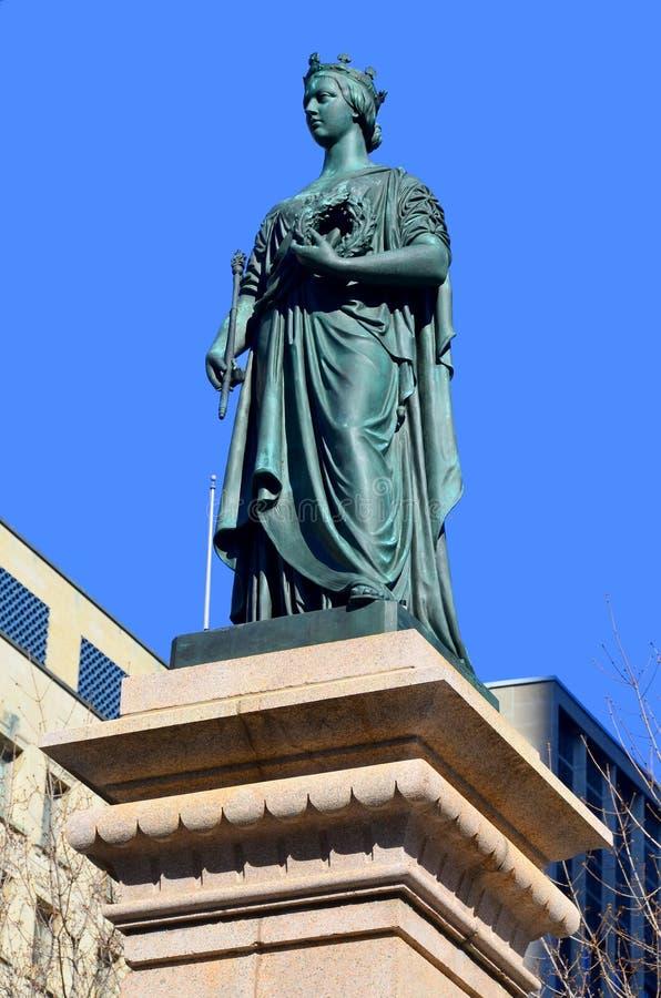 Koningin Victoria Statue royalty-vrije stock foto's