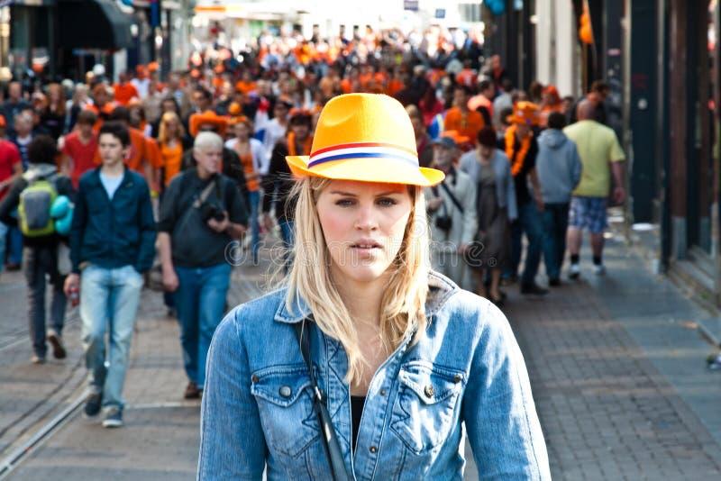 koninginnedag 2011 стоковые фотографии rf
