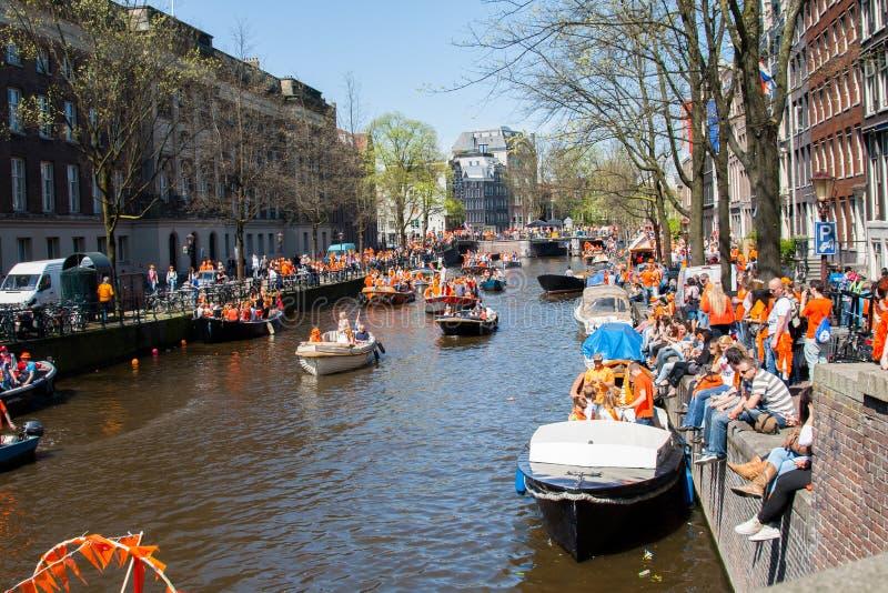 Koninginnedag 2012 immagini stock libere da diritti