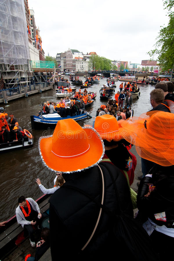 Download Koninginnedag Amsterdam 2010 Editorial Photography - Image: 14111562
