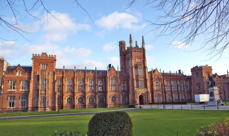 Koninginnen universitair Belfast stock foto's