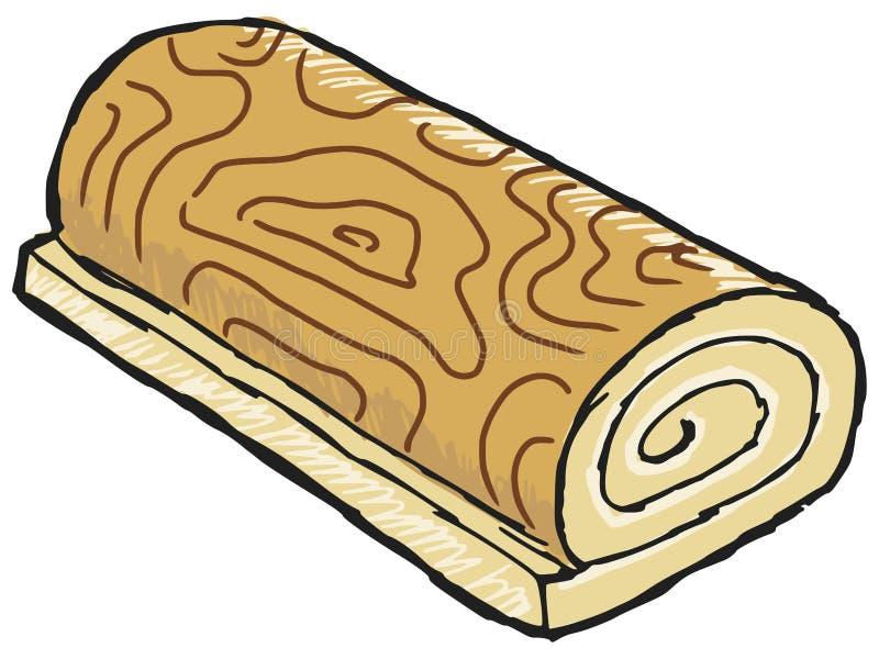 Koninginnenbrood stock illustratie