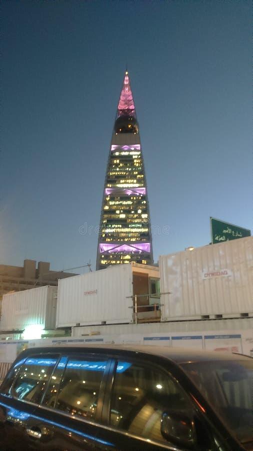 Konings faisal toren royalty-vrije stock afbeelding