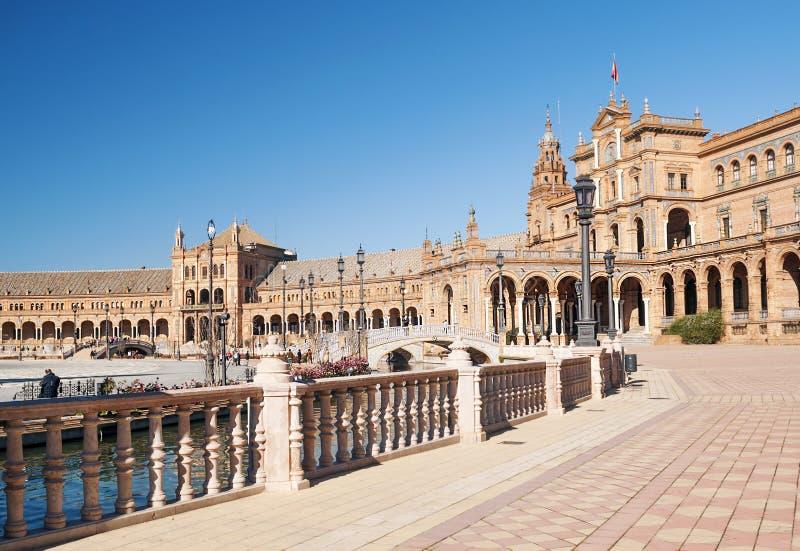 Koninklijk paleis van Sevilla stock foto