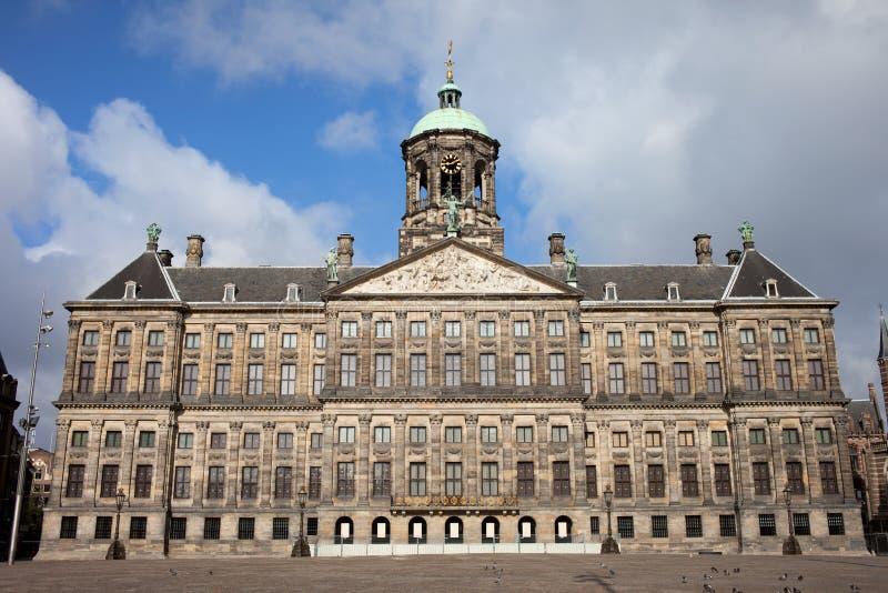 Koninklijk Paleis w Amsterdam obrazy royalty free