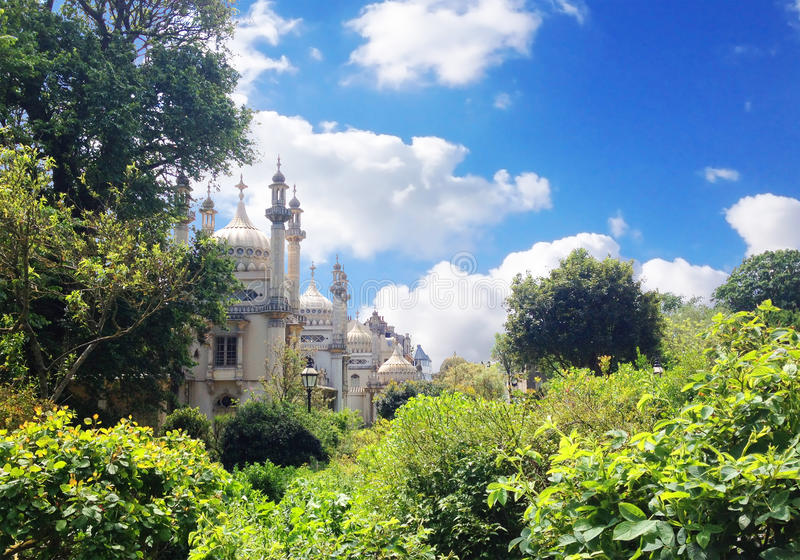 Koninklijk paviljoen in Brighton royalty-vrije stock afbeelding