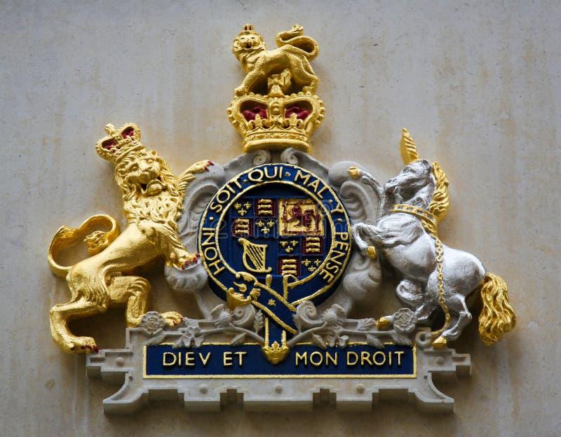 Koninklijk Schild in Brugge, België royalty-vrije stock foto's