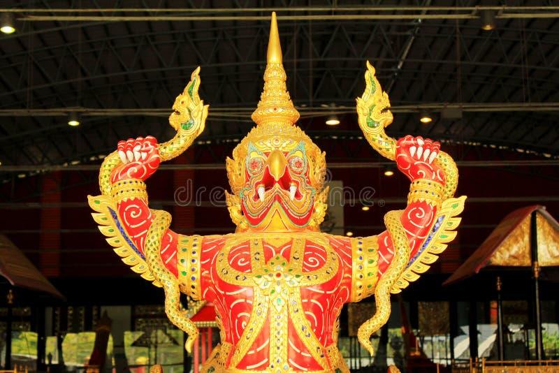 Koninklijke Aak in Nationaal Museum van Koninklijke Aken, Bangkok, Thailand royalty-vrije stock afbeelding