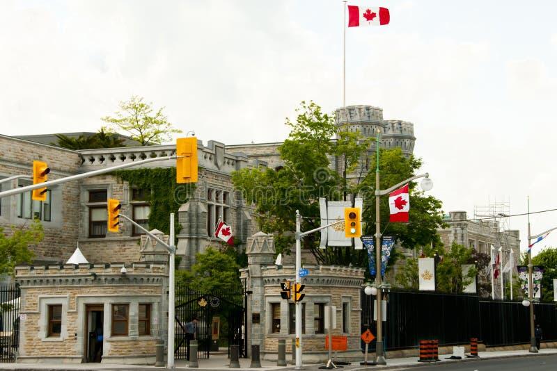 Koninklijke Canadese Munt - Ottawa stock afbeelding