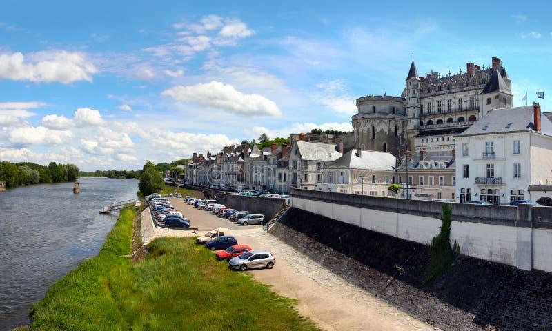 Koninklijke Chateau d?Amboise stock foto