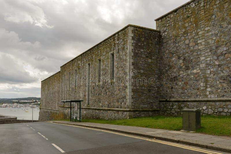 Koninklijke Citadelvestingwerken, Plymouth royalty-vrije stock fotografie