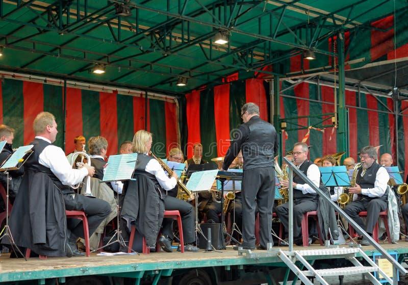 Koninklijke Fanfare Concordia stock foto's