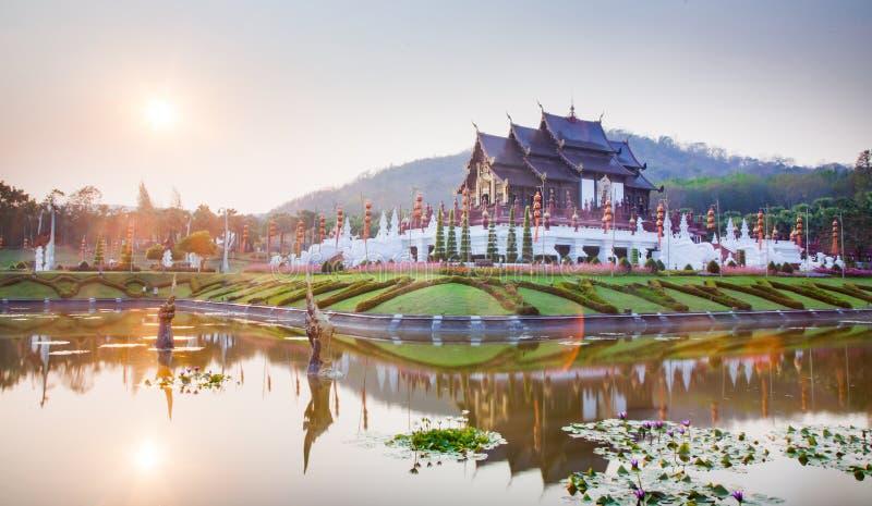 Koninklijke Flora Ratchaphruek Park, Chiang Mai, Thailand royalty-vrije stock afbeeldingen