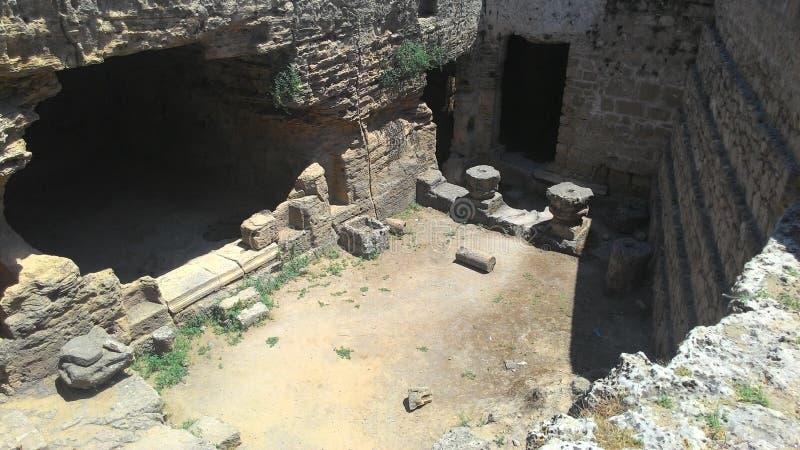 Koninklijke graven van een oude beschaving royalty-vrije stock foto's