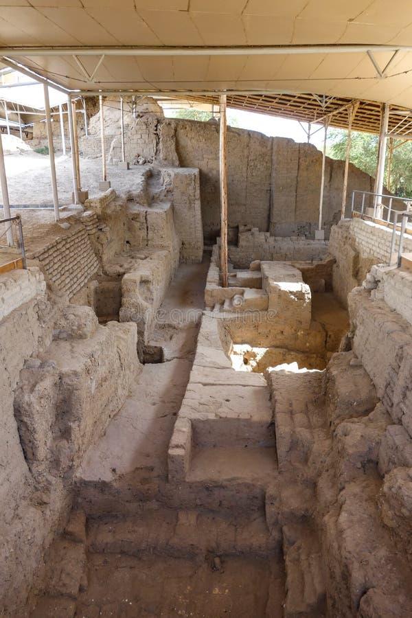 Koninklijke Graven van Lord van Sipan Chiclayo, Peru royalty-vrije stock foto