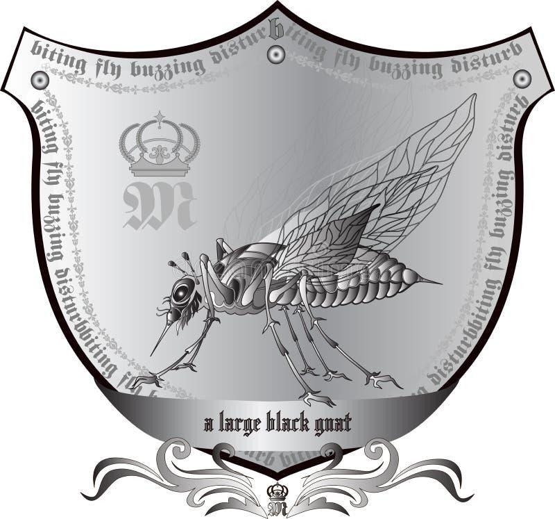 Koninklijke grote mug vector illustratie