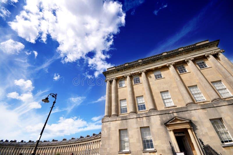 Koninklijke Halve maan, Bad het UK stock foto's