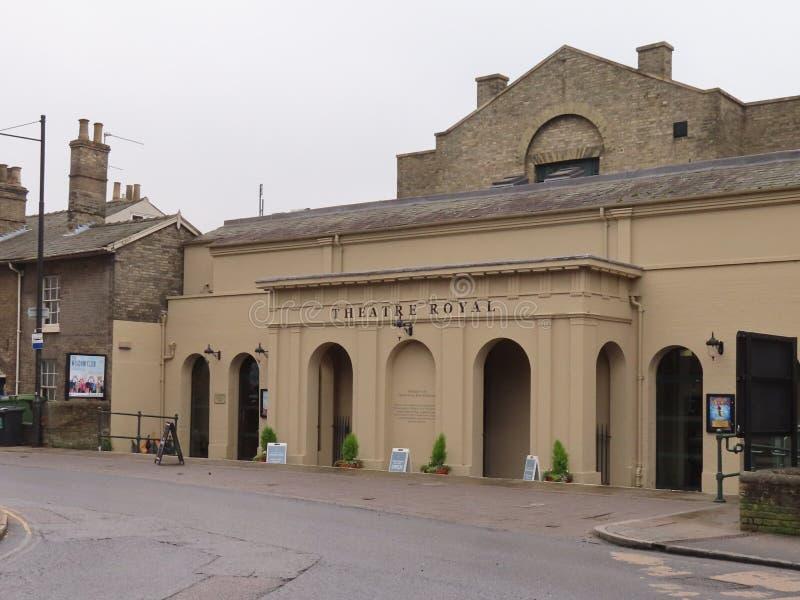 Koninklijke het theater, begraaft St Edmunds stock afbeeldingen
