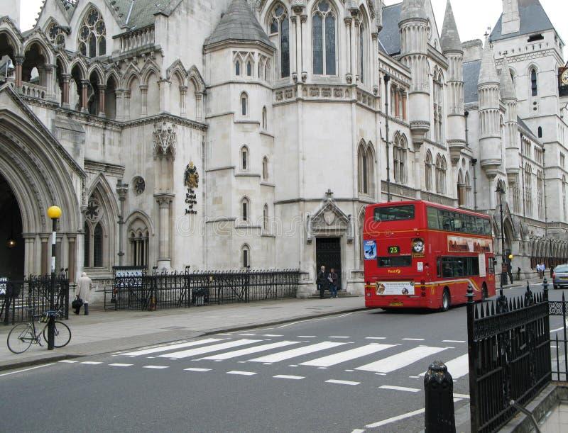 Koninklijke Hof van Justitie, Londen stock afbeeldingen