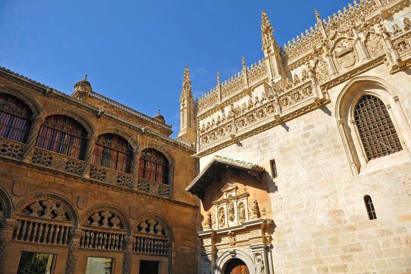 Koninklijke Kapel, Kathedraal van Granada, Andalusia, Spanje stock afbeelding
