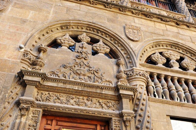 Koninklijke Kapel, Kathedraal van Granada, Andalusia, Spanje stock afbeeldingen