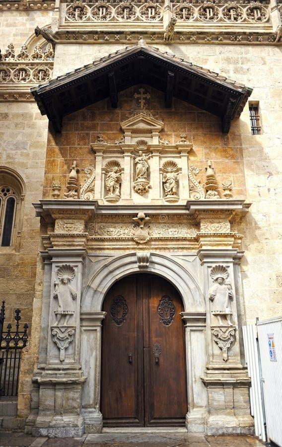 Koninklijke Kapel, Kathedraal van Granada, Andalusia, Spanje royalty-vrije stock foto's