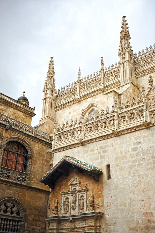 Koninklijke Kapel, Kathedraal van Granada, Andalusia, Spanje royalty-vrije stock afbeelding