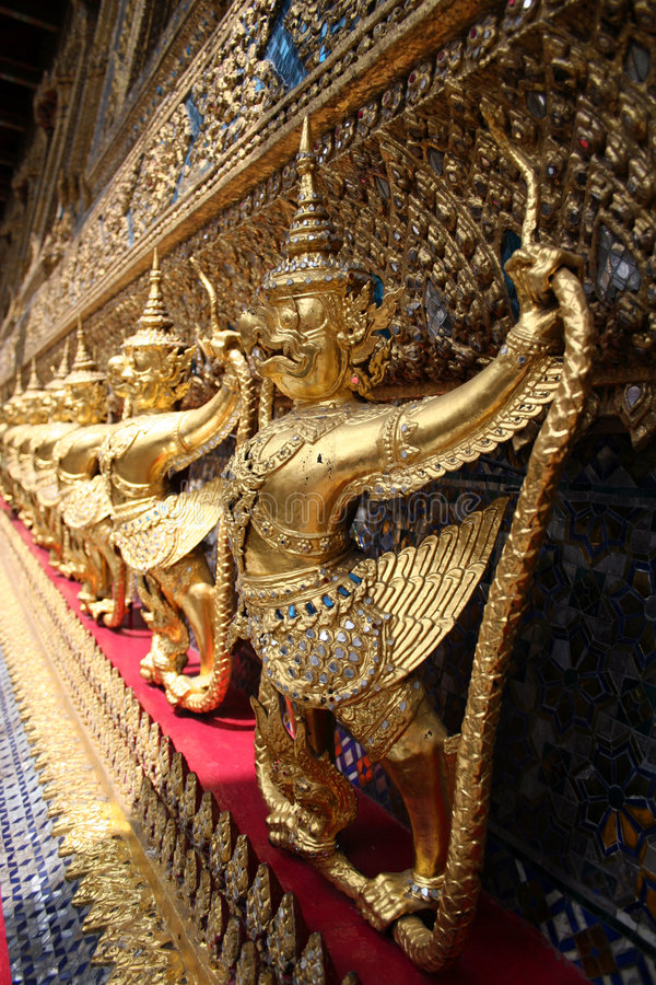 Koninklijke Kapel van Smaragdgroene Boedha royalty-vrije stock foto