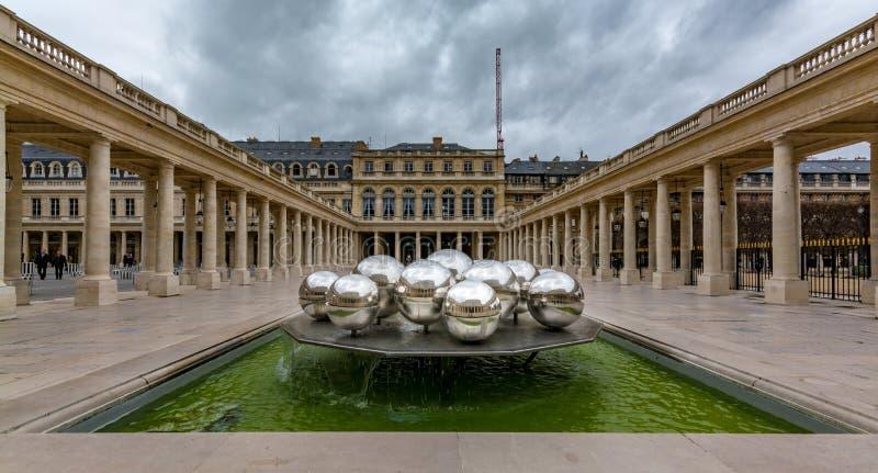 Koninklijke Palais royalty-vrije stock foto's