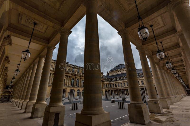 Koninklijke Palais royalty-vrije stock afbeeldingen