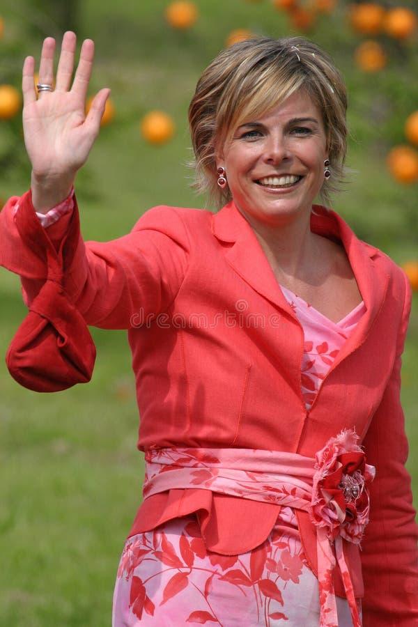 Koninklijke prinses Laurentien royalty-vrije stock afbeelding