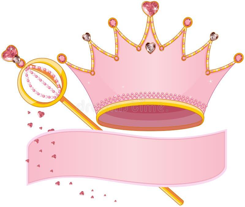 Koninklijke Regalia royalty-vrije illustratie