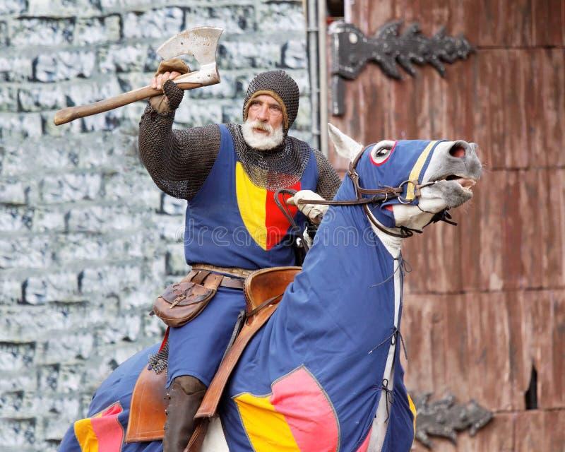 Koninklijke ridders stock afbeeldingen