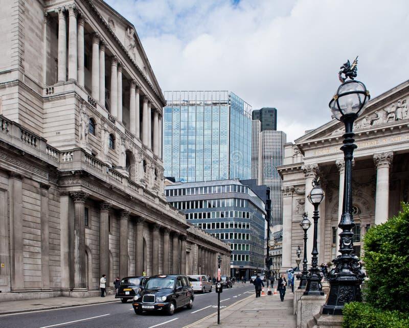 Koninklijke Uitwisseling Londen stock foto's