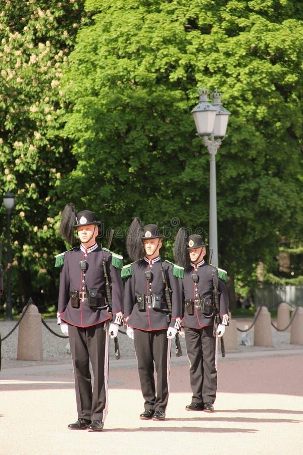 Koninklijke wachten stock foto