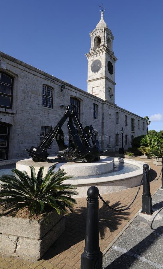 Koninklijke Zeewerf in de Bermudas royalty-vrije stock fotografie