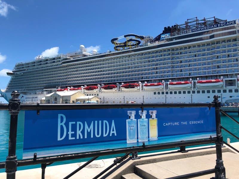 Koninklijke ZeeWerf in de Bermudas royalty-vrije stock foto