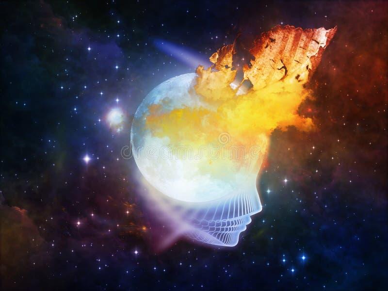 Koninkrijken van de Maan vector illustratie