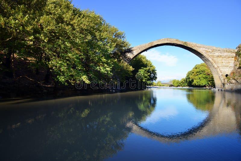 Konitsa most, Grecja zdjęcia stock