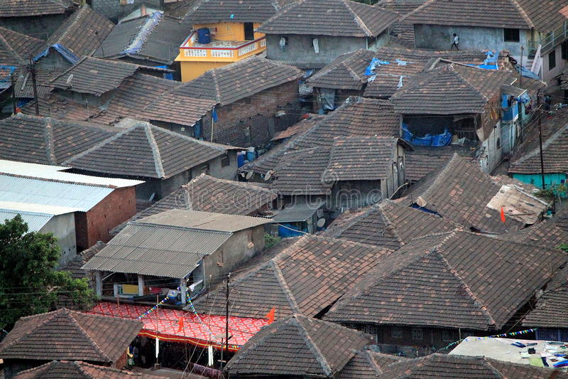 从Konkan的一个村庄 免版税图库摄影