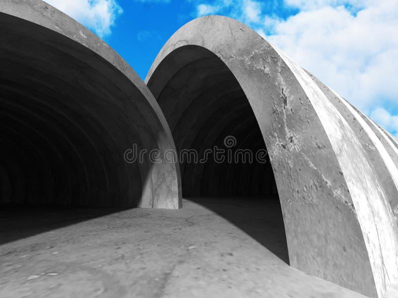 Download Konkret Arkitekturbakgrund Modern Desig För Abstrakt Byggnad Stock Illustrationer - Illustration av begrepp, design: 78729188