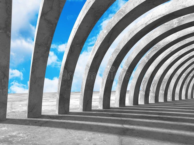 Download Konkret Arkitekturbakgrund Modern Desig För Abstrakt Byggnad Stock Illustrationer - Illustration av geometriskt, begrepp: 78729357